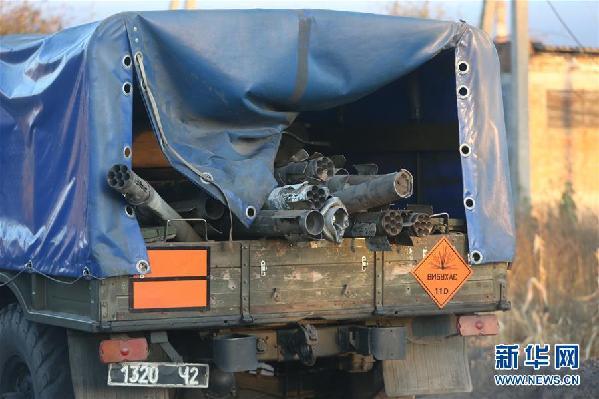 (国际)(4)乌克兰北部军火库爆炸未造成人员伤亡