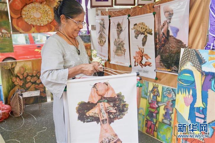 (国际·图文互动)(1)漫步斯里兰卡卡拉·波拉户外艺术展