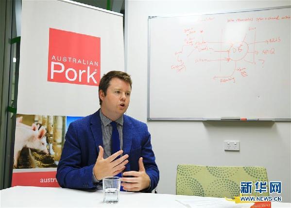 (国际·图文互动)澳大利亚猪肉产业协会官员看好进博会机遇