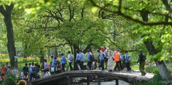 杭州:春日美景 游園踏青