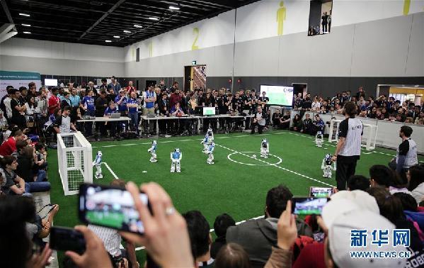 (国际)(1)机器人世界杯在澳大利亚悉尼举行