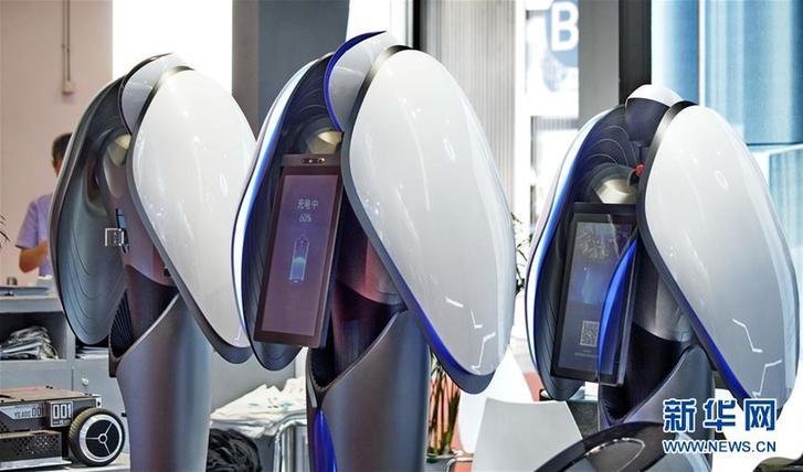 """(科技)(7)机器人""""群英会"""""""
