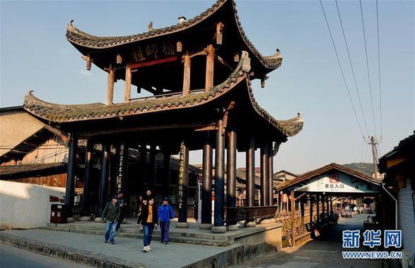 (美丽中国)(2)武夷山下古村落——下梅村