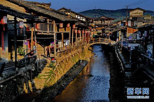 (美丽中国)(5)武夷山下古村落——下梅村