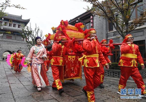 (社会)(1)中式婚礼 缘定古城