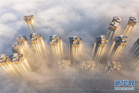 (环境)(1)贵阳:雾中仙境