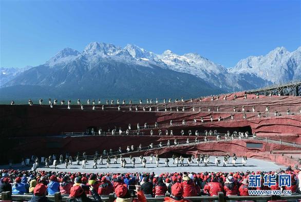 (环境)(4)云南丽江:玉龙雪山景色壮美