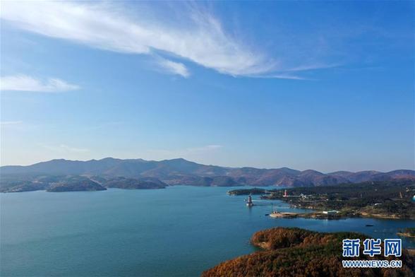 (环境)(1)俯瞰河南淅川丹江口水库库区