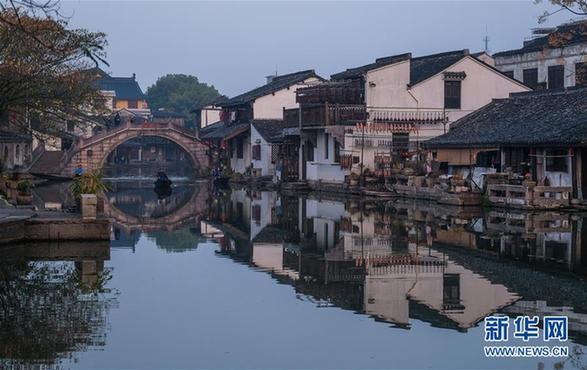 (美丽中国)(1)浙江安昌古镇:水乡风情延千年