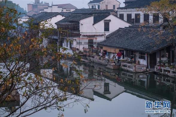 (美丽中国)(3)浙江安昌古镇:水乡风情延千年