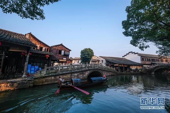 (美丽中国)(4)浙江安昌古镇:水乡风情延千年