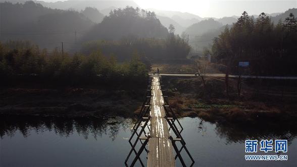 (环境)(6)安徽:龙川冬晨美如画