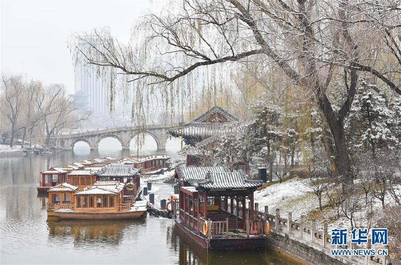 (环境)(1)山西太原迎来降雪