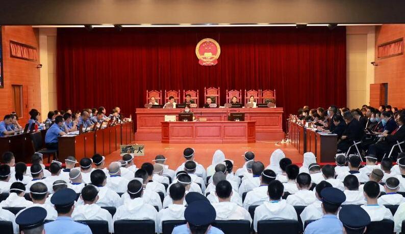 敛财达1.26亿余元 海南琼海杨昌武涉黑组织一审判了