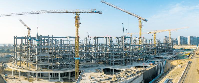 澳门新濠天地网址国际免税城项目加快建设[图]