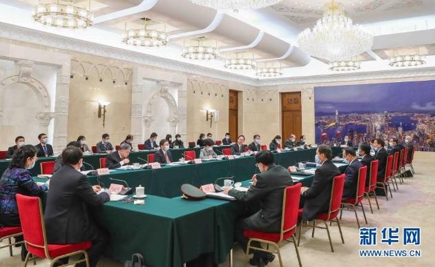 (兩會受權發布)全國人大憲法和法律委員會召開全體會議