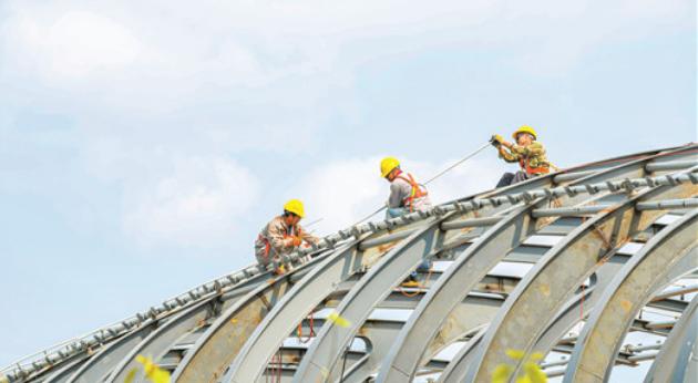 海口龙昆南延长线新建两座天桥[图]