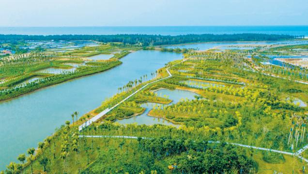 ??诮瓥|新區道孟河綜治工程美如畫[圖]