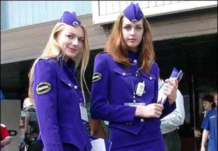 俄罗斯美女美女(资料图)吗卖你空姐图片