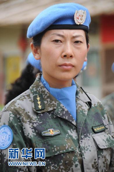 中国维和女军人 黎云摄-赴利维和部队轮换日记 走近中国式维和图片