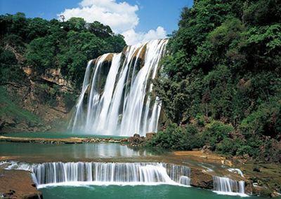 壁纸 风景 旅游 瀑布 山水 桌面 400_284