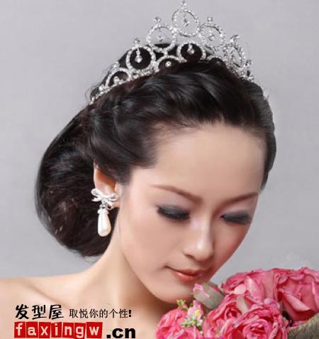 最新韩式新娘发型图片浪漫无憾