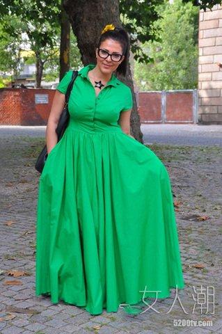 女人穿衣误区 10种搭配最显个矮