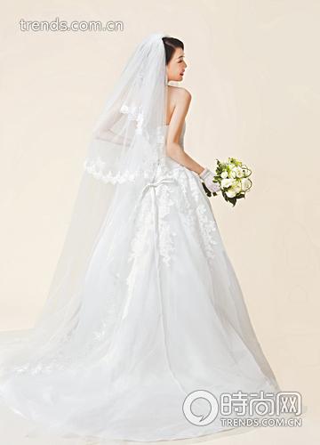 精致新娘的心动头纱美丽12计图片