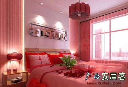 新婚家居卧室装修的家居风水禁忌 图