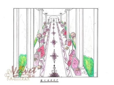 婚礼欧式花坛素材
