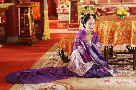 《肉蒲团》女星穿衣从良 《太平公主》变皇后(图)