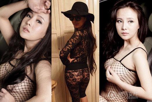 干露露成品牌 美女裸露上瘾引发连锁效应图片