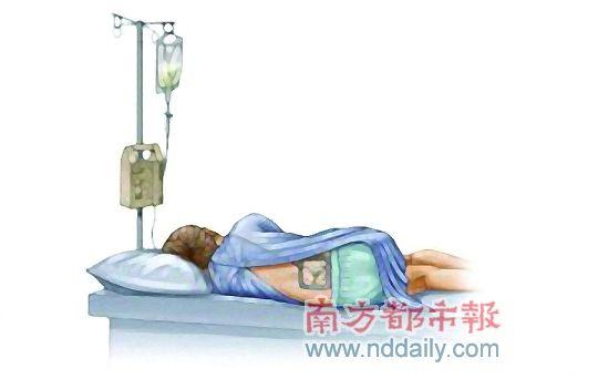 一般来说,宫颈口开到3厘米左右,麻醉医生会先用一根长针穿刺到硬脊