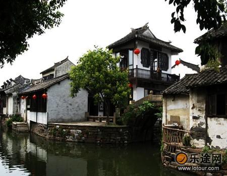 周庄、甪直、同里、南浔、西塘( 酒店 )和乌镇( 酒店 )被称高清图片
