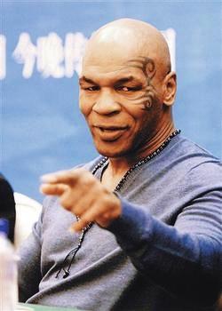 女人 迈克/非洲一家名为SpyGhana的网站近日报道称,前拳王迈克·泰森(...