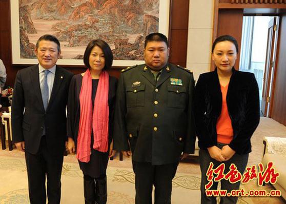 毛泽东亲属现身毛主席纪念堂