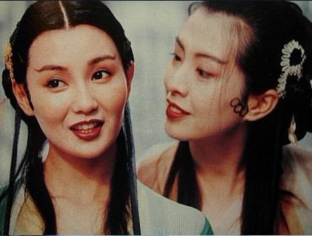 王祖贤张曼玉风情旧照 全裸沐浴暧昧传情