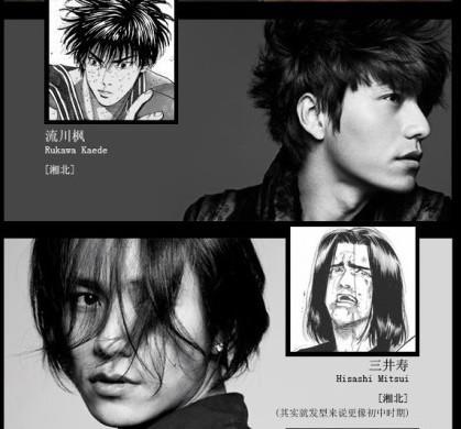 陈坤遭恶搞变《灌篮高手》角色 演绎帅哥版樱木流川枫