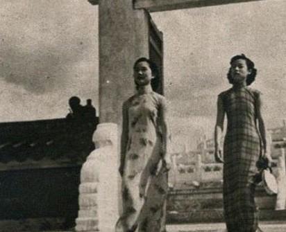 民国女子旗袍风采