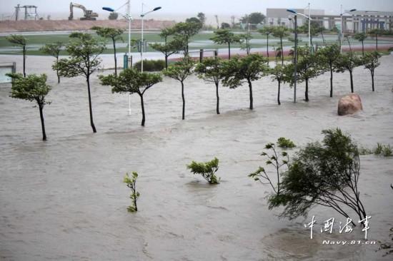 09台风天兔图片_强台风天兔致广东21人遇难图