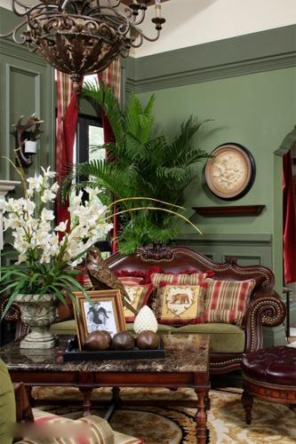 两层半百科v百科美式乡村别墅样板房萨兹曼风格别墅百度图片