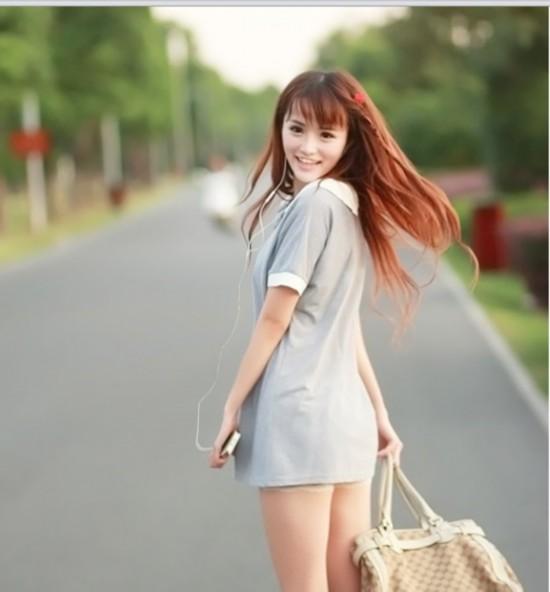 湖南农大校花孔一红 清纯美女性感诱惑