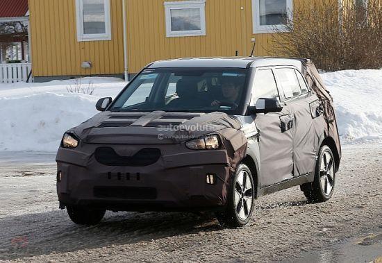 日前,韩国现代汽车正在位于瑞典北部研发全新现代ix25车型.