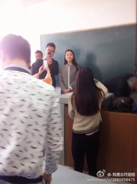 四川师范大学:美女英语老师神似刘诗诗佟丽娅已有