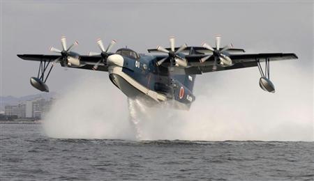 """资料图:""""us2""""型水上飞机"""