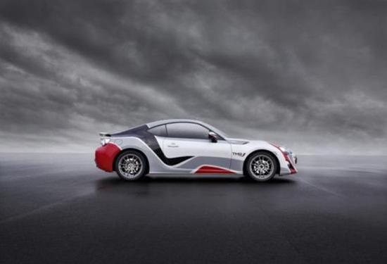 丰田发布gt86 cs-r3拉力赛车