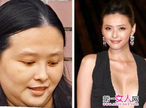 悉数娱乐圈中年发福女明星:徐静蕾被批大饼脸