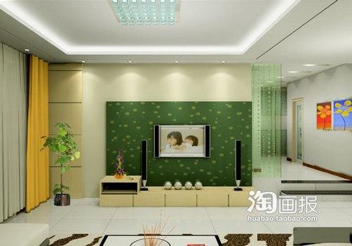 2016客厅电视背景墙装修效果图 30个亮点高清图片