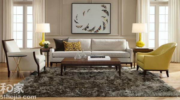 现代简欧风格 英式客厅家具搭配效果图12例