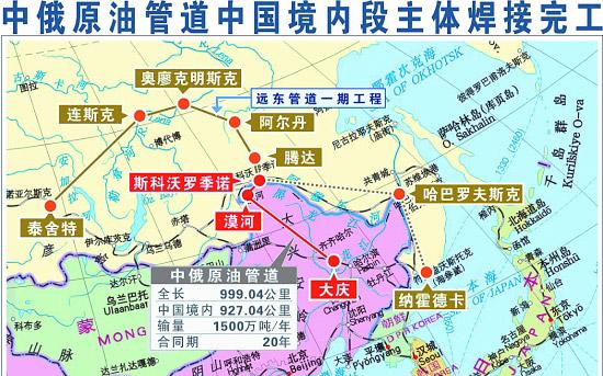 俄罗斯远东地图中文版